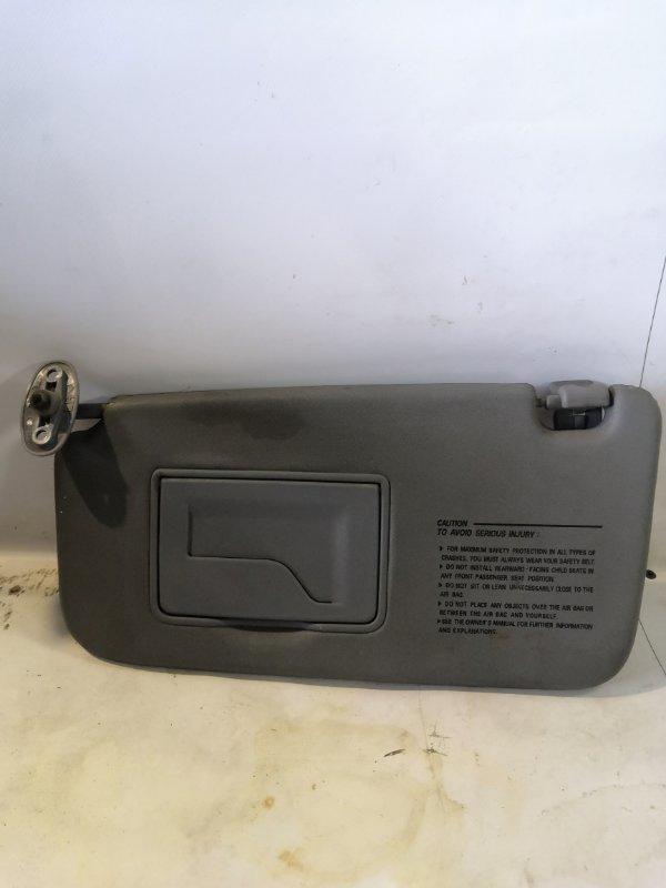 Козырек солнцезащитный Hyundai Matrix 1.8 передний левый (б/у)