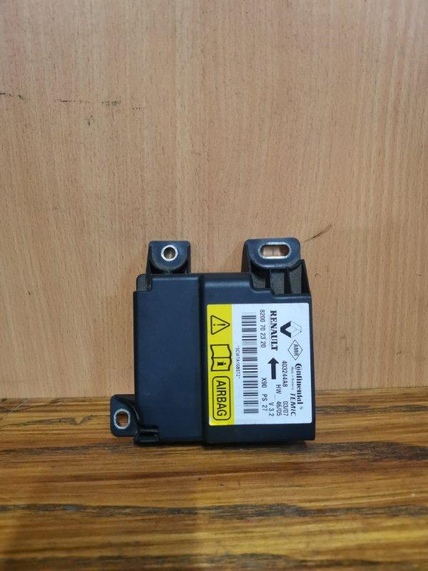 Блок управления srs (безопасности) Renault Logan 1 K7M 710 2004 (б/у)