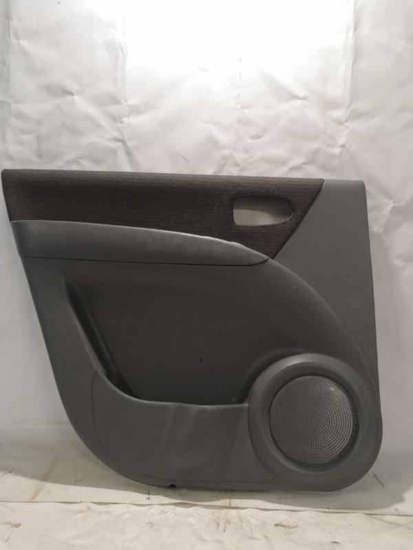 Обшивка двери Hyundai Matrix 1.8 задняя левая (б/у)