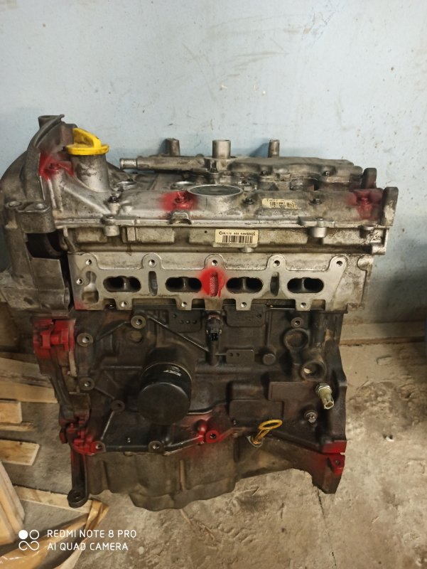 Двигатель Lada Largus BS K4M 2005 (б/у)