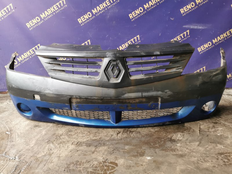 Бампер Renault Logan 1 СЕДАН K7M710 2007 передний (б/у)