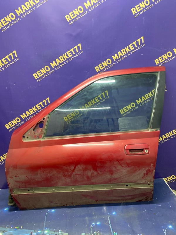 Дверь Peugeot 406 1998 передняя левая (б/у)
