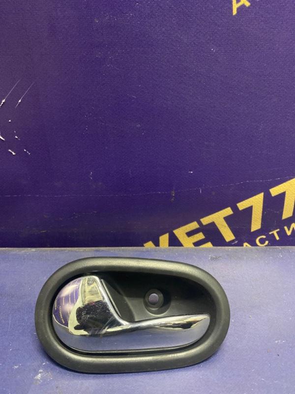 Ручка двери внутренняя Renault Logan 2 L8 2014 передняя левая (б/у)