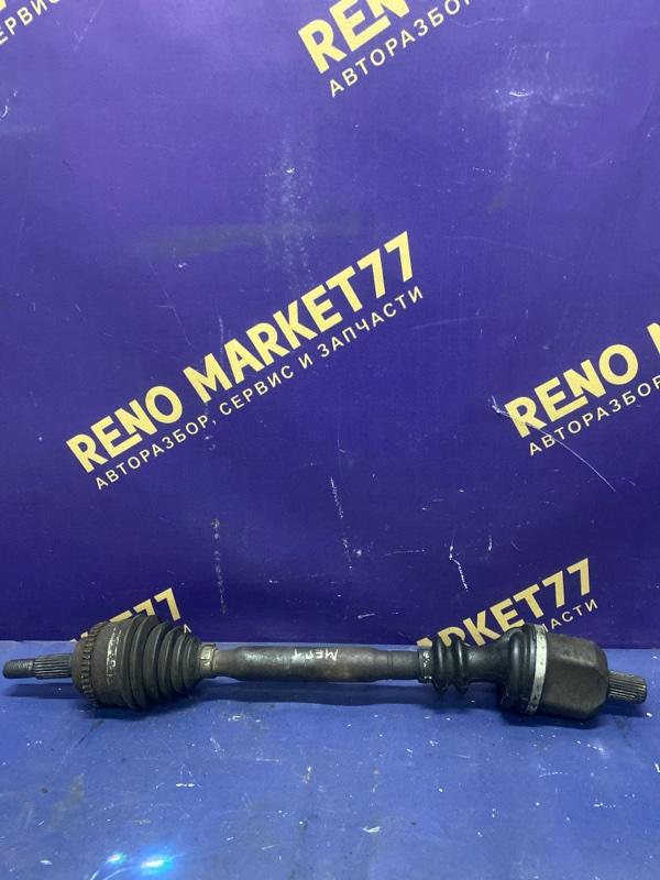 Привод Renault Megane 1 K4J 2000 передний левый (б/у)