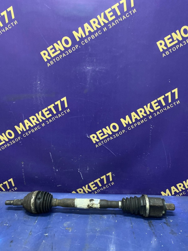 Привод Renault Megane 2 K4M 2002 передний левый (б/у)