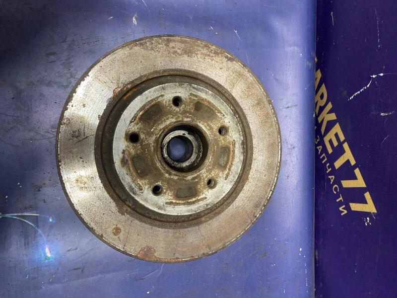 Тормозной диск Renault Megane 3 2009 задний (б/у)