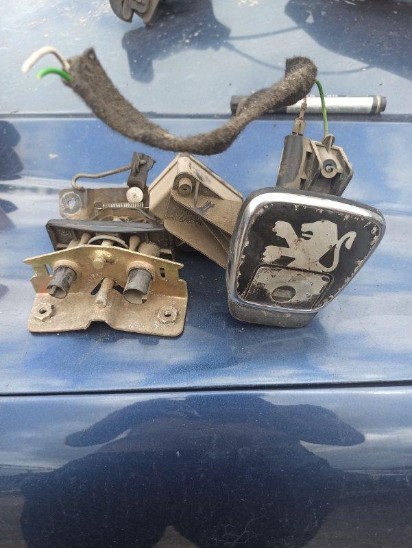 Замок багажника Peugeot 408 задний (б/у)