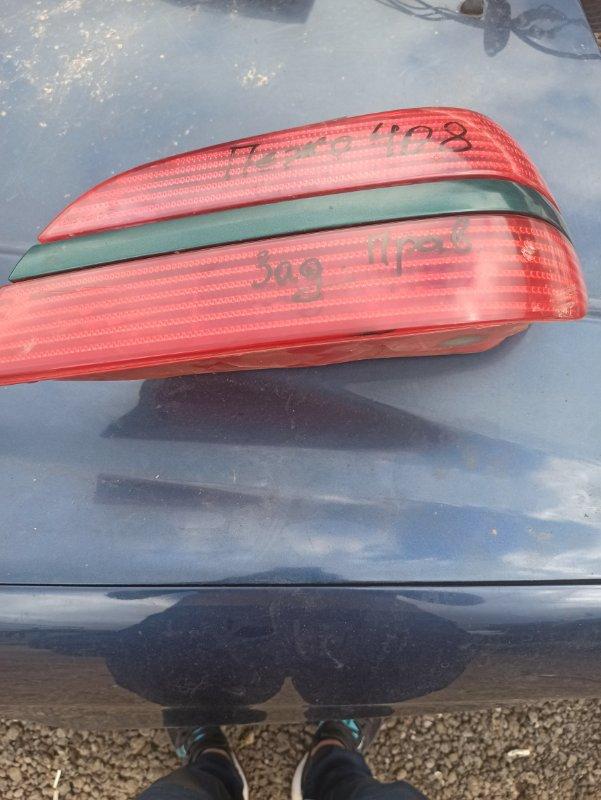 Фонарь заднего хода Peugeot 408 задний правый (б/у)