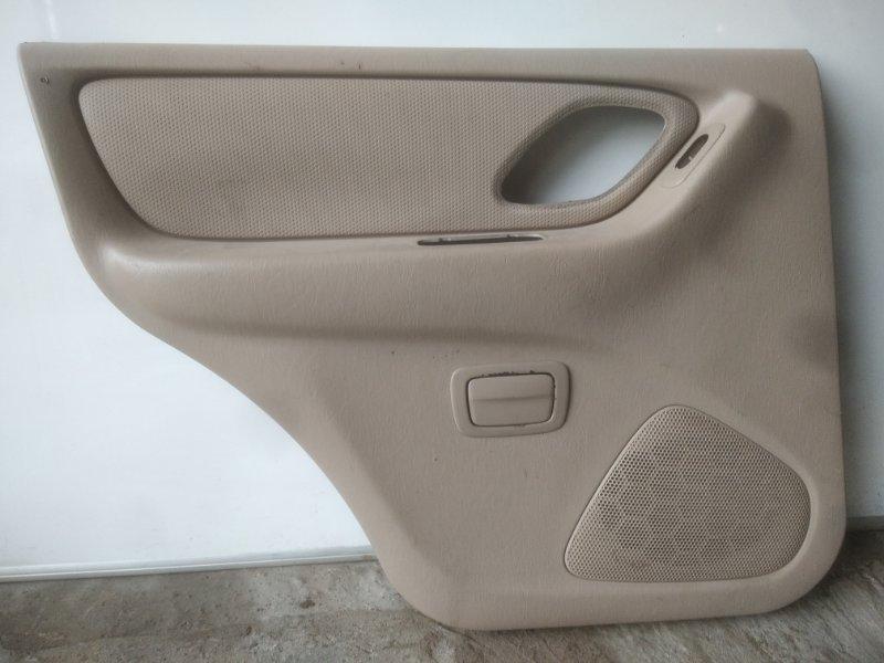 Обшивка двери Mazda Tribute ДЖИП 5 ДВЕРЬ YF 2003 задняя левая (б/у)