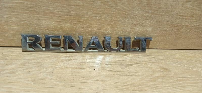 Эмблема Renault Logan 1 LS K7J 2008 (б/у)