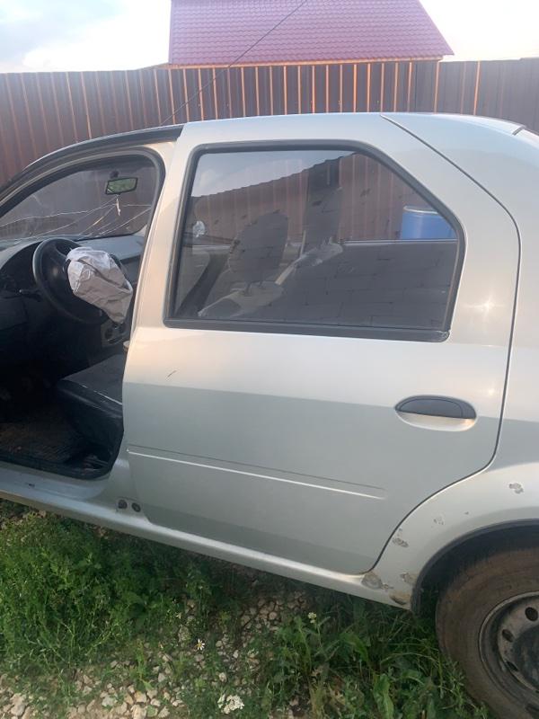 Дверь Renault Logan 1 LS K7J 2008 задняя левая (б/у)