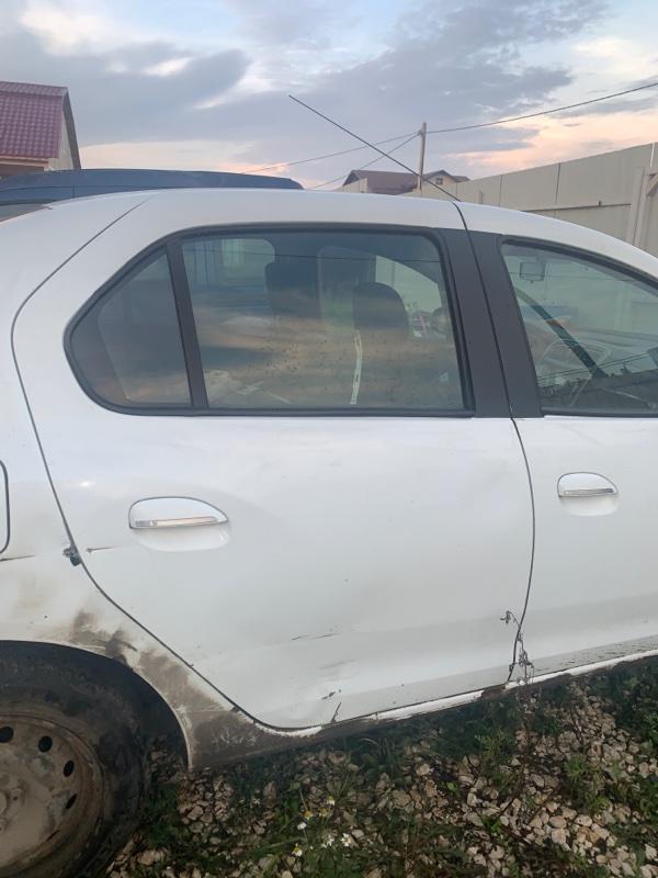 Дверь Renault Logan 2 L8 K7M 2015 задняя правая (б/у)