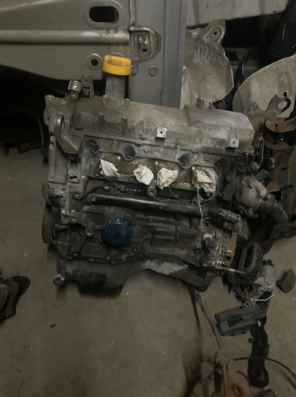 Двигатель Renault Sandero 2 K7M 2015 (б/у)