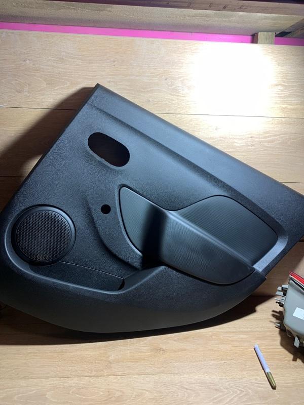 Обшивка двери Renault Logan 2 L8 K7M 2015 задняя правая (б/у)