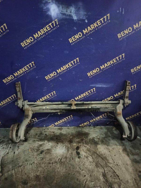 Балка задняя Renault Megane 1 СЕДАН K4M (б/у)