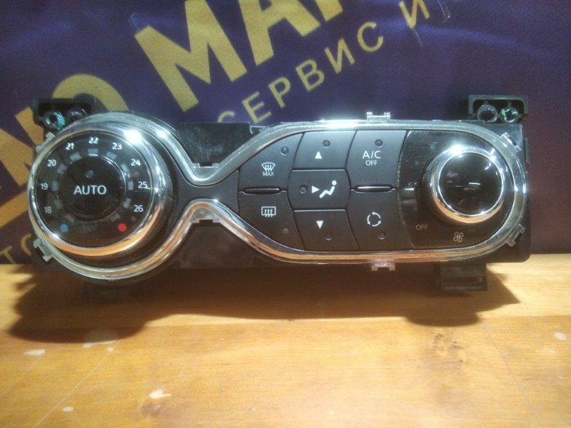 Блок управления климат-контролем Renault Sandero 2 K7M 2015 (б/у)
