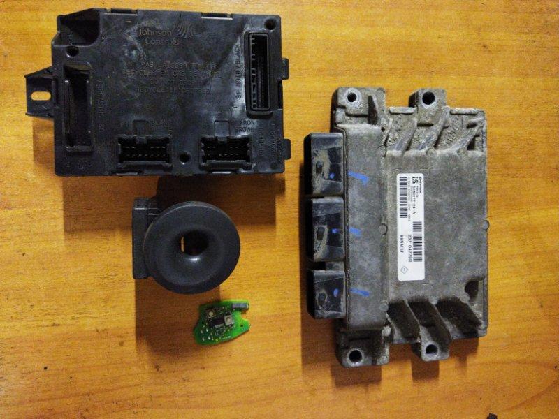 Блок управления двигателем (эбу) Renault Logan 2 L8 K7M 2015 (б/у)
