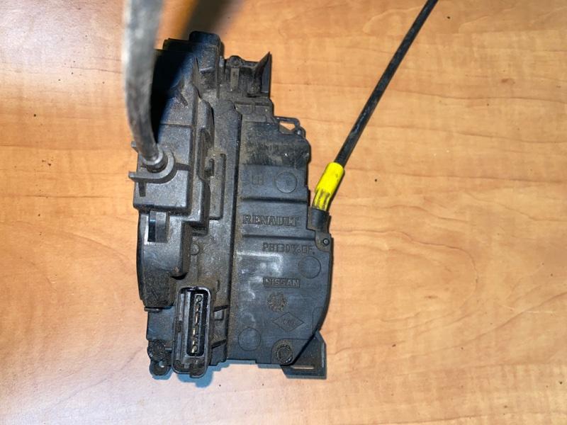 Замок двери электр. Renault Kangoo 2 KWOY 2011 передний левый (б/у)