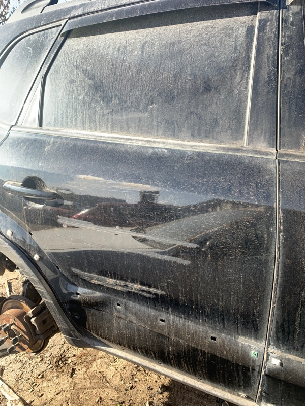 Дверь Hyundai Tucson 2.0 ДИЗЕЛЬ 2007 задняя правая (б/у)