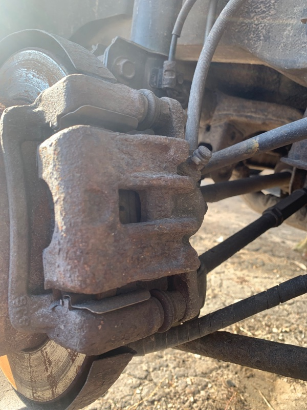 Суппорт Hyundai Tucson 2.0 ДИЗЕЛЬ 2007 задний правый (б/у)