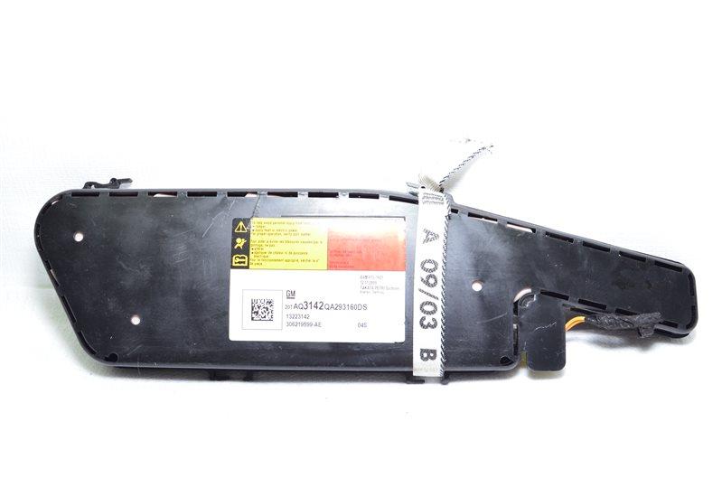 Подушка безопасности в сиденье боковое Opel Insignia A20DTH 2009 (б/у)