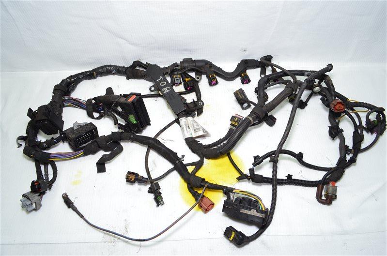 Проводка двигателя Opel Insignia A20DTH 2009 (б/у)
