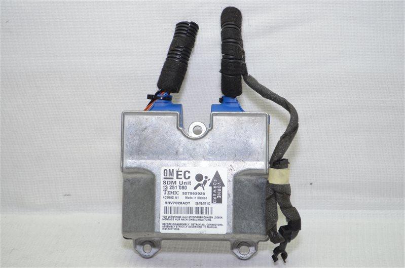 Блок управления аирбаг Opel Astra H 1.6 Z16XER 2007 (б/у)