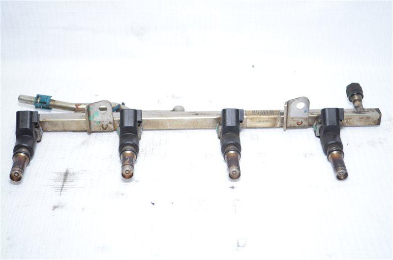 Топливная рейка (рампа) Opel Astra H Z16XER (б/у)