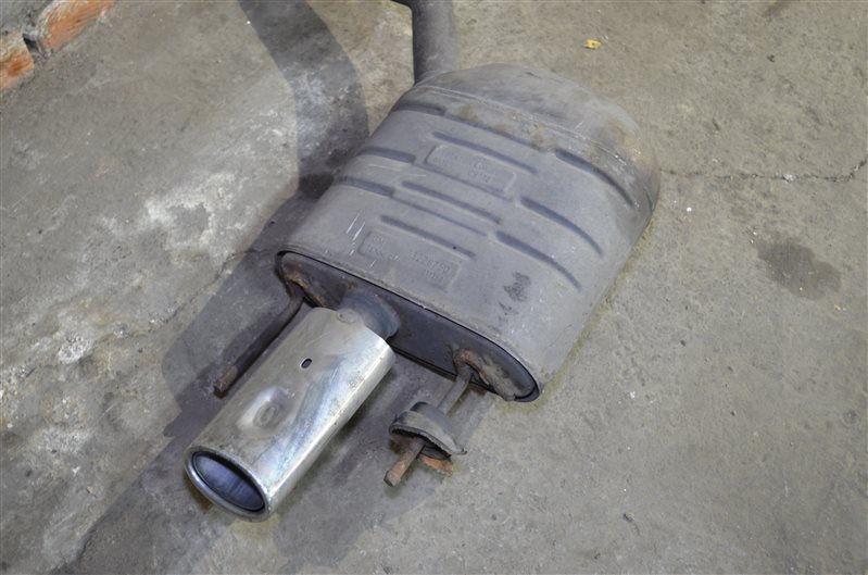 Приемная труба с гофрой Opel Insignia A20DTH 2009 (б/у)