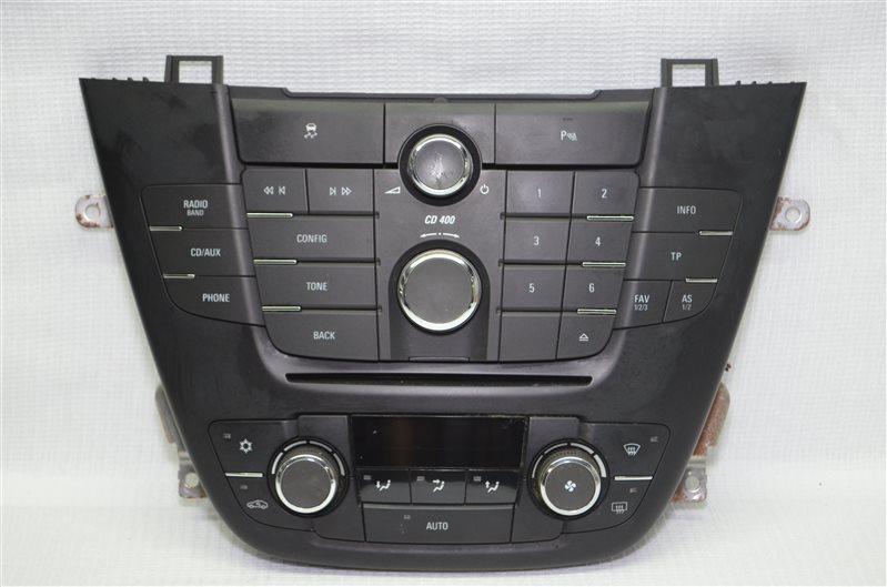 Блок управления магнитолой Opel Insignia 2.0 A20DTH 2010 (б/у)