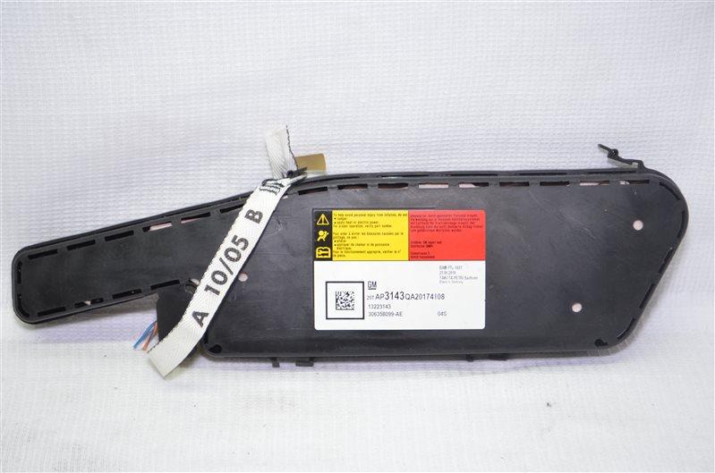Подушка безопасности в сиденье боковая Opel Insignia 2.0 A20DTH 2010 правая (б/у)