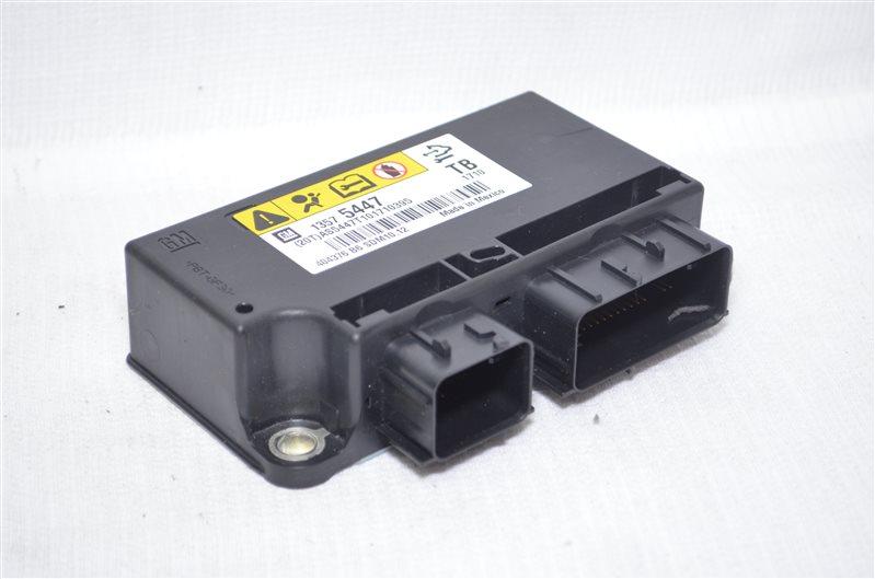 Блок управления подушками безопасности Opel Insignia 2.0 A20DTH 2010 (б/у)