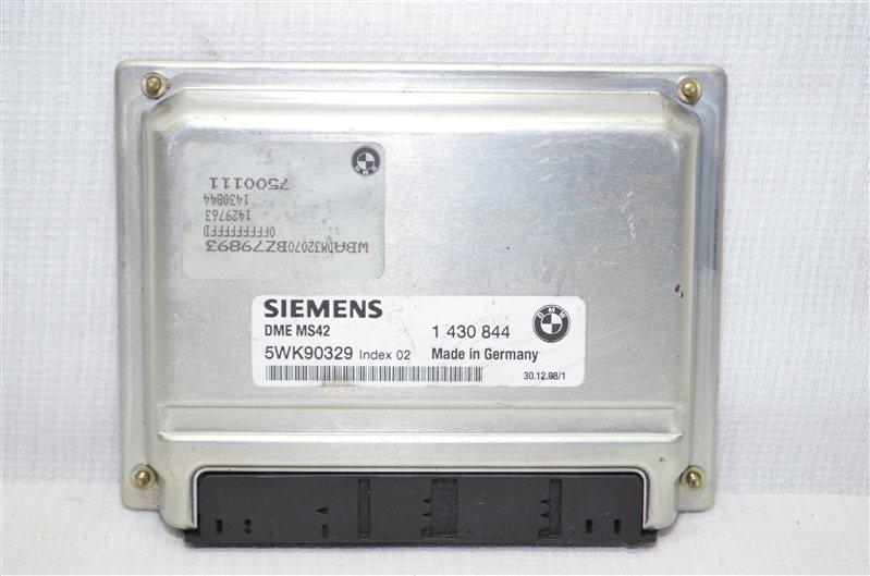 Блок управления двигателем Bmw 523 E39 2.5 M52B25 1999 (б/у)