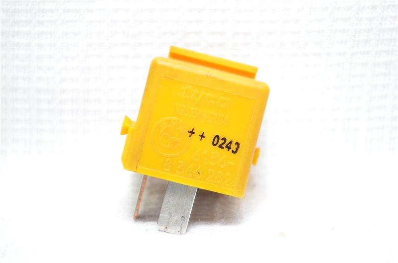 Реле желтый Bmw X5 E53 3.0 M54B30 2003 (б/у)