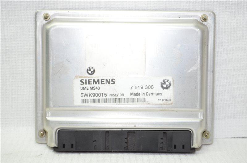 Блок управления двигателем Bmw X5 E53 3.0 M54B30 2003 (б/у)