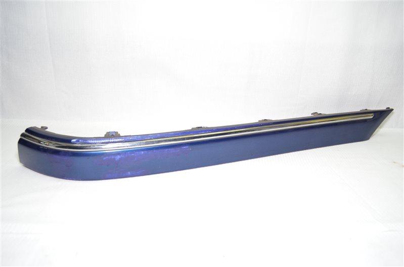 Накладка бампера Mercedes C180 W203 1.8 KOMPRESSOR M271.946 2004 задняя левая (б/у)