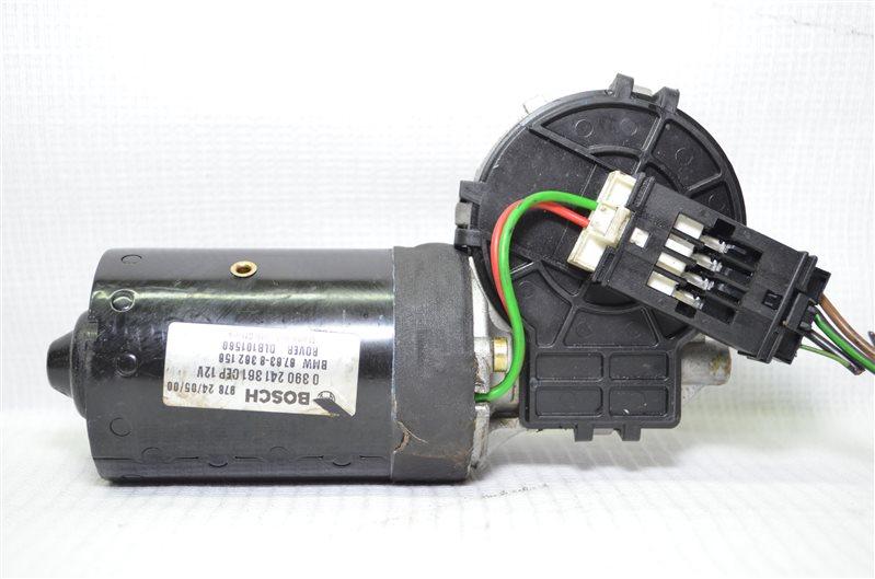 Моторчик стеклоочистителя Bmw 325 E46 2.5 M54B25 2001 передний (б/у)