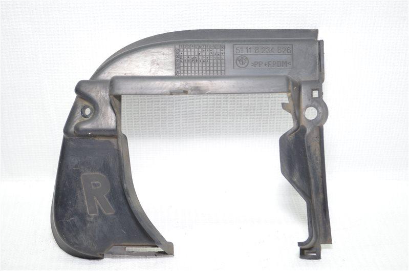 Решетка в бампер Bmw 325 E46 2.5 M54B25 2001 правая (б/у)