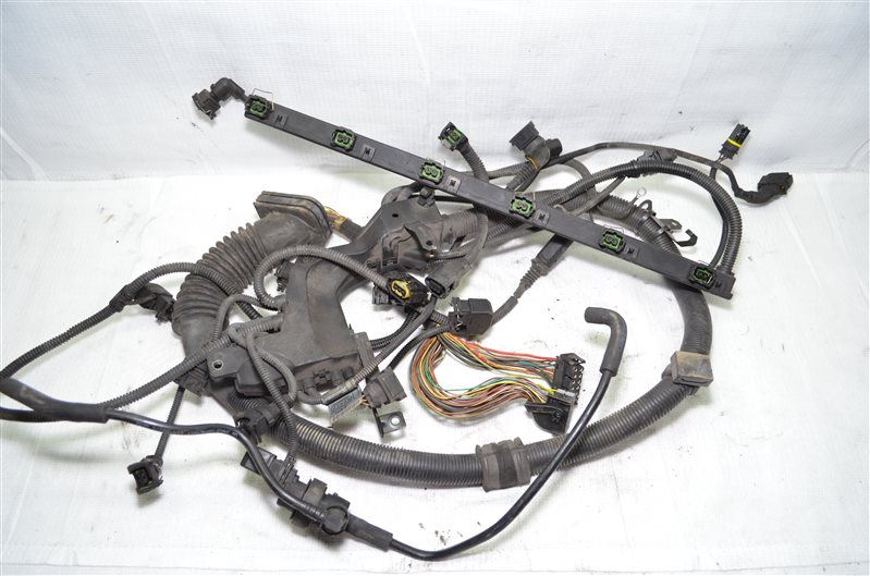 Проводка подкапотная Bmw 325 E46 2.5 M54B25 2001 (б/у)