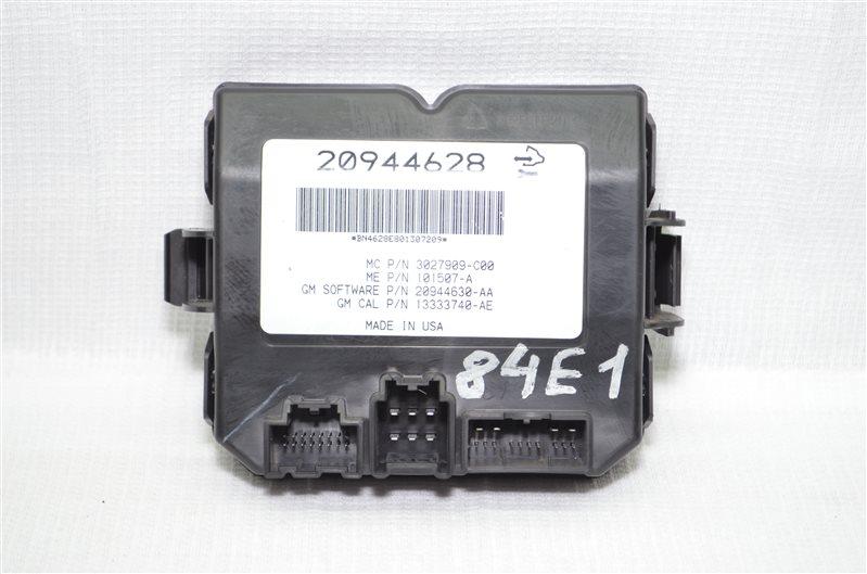 Блок управления багажника Opel Insignia 2.0 A20DTH 2010 (б/у)