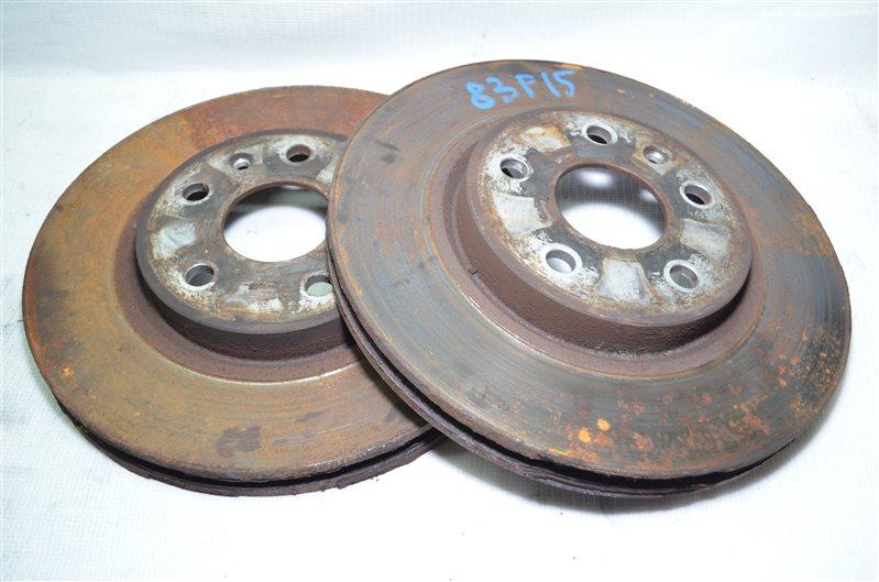 Диски тормозные Opel Insignia 2.0 A20DTH 2009 (б/у)