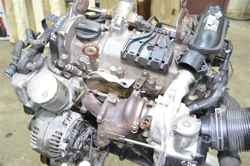 Двигатель Skoda Rapid 1.2 TSI CBZ 2010 (б/у)