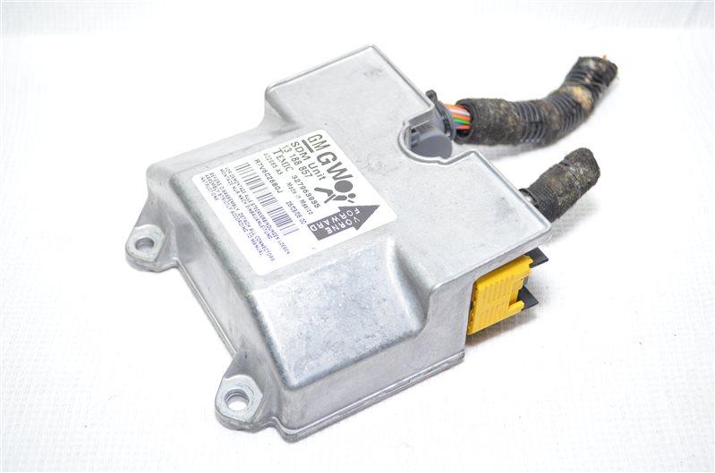Блок управления аирбаг Opel Astra H 1.6 Z16XEP 2006 (б/у)
