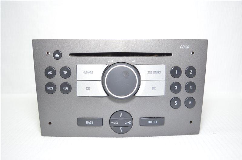 Магнитола штатная Opel Astra H 1.6 Z16XEP 2006 (б/у)