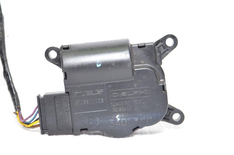 Моторчик заслонки печки Opel Astra H 1.6 Z16XEP 2006 (б/у)