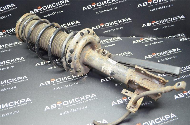 Стойка амортизатора Opel Astra H 1.6 Z16XEP 2006 передняя левая (б/у)