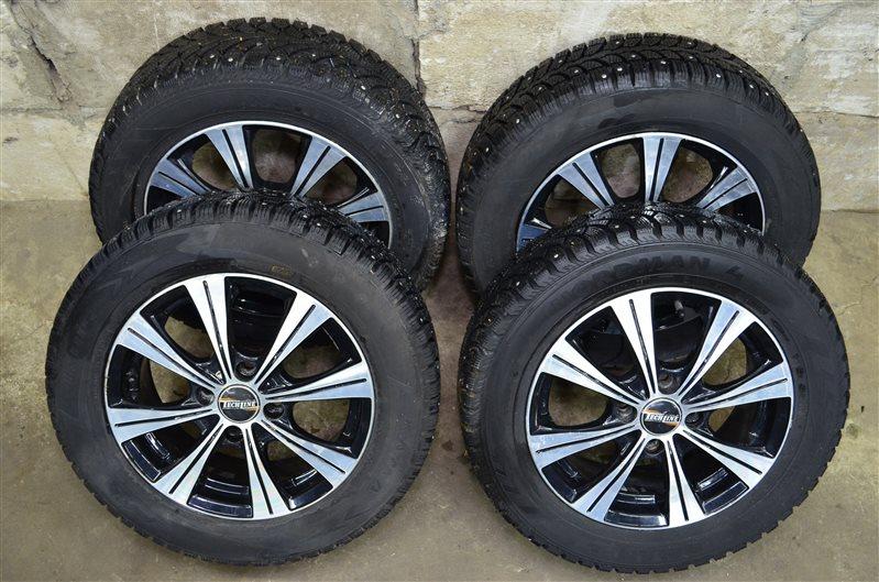 Комплект колес на зимней резине Opel Corsa C 1.2 Z12XE 2001 (б/у)