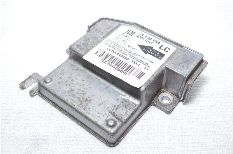 Блок управления подушками безопасности Opel Corsa C 1.2 Z12XE 2001 (б/у)