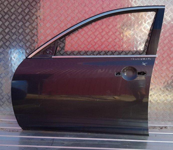 Дверь передняя левая Infiniti G (V35) 2002-2007