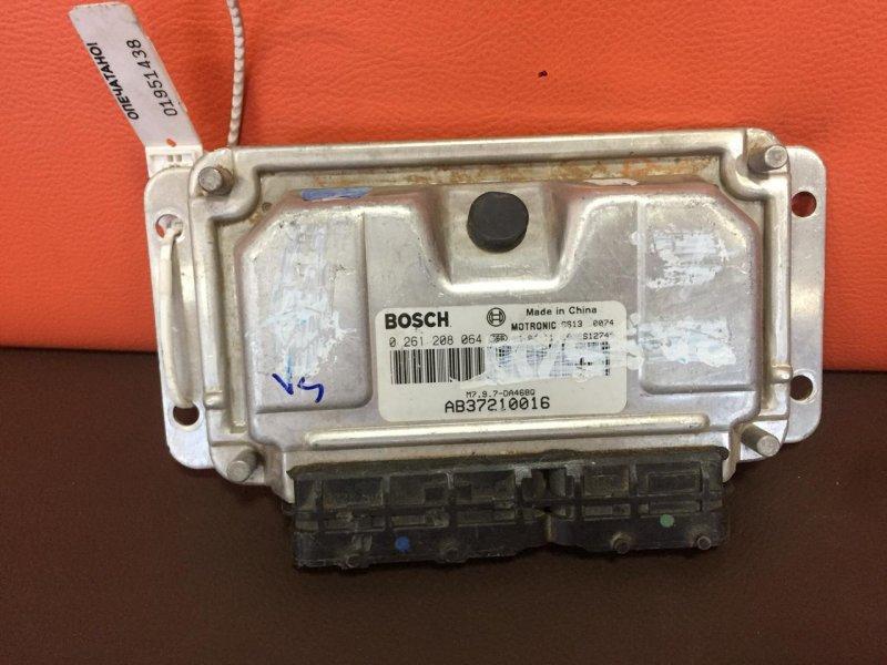 Блок управления двигателем Hafei Brio DA468Q 2002 (б/у)